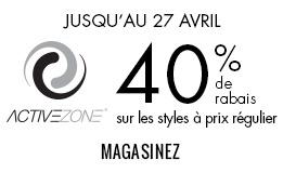 40 % de rabais sur ActiveZone