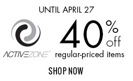 40% off ActiveZone