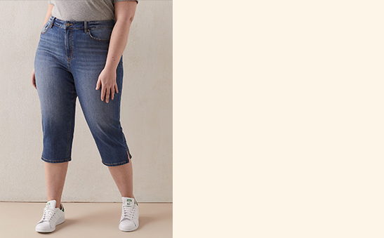 25% OFF Denim  capris