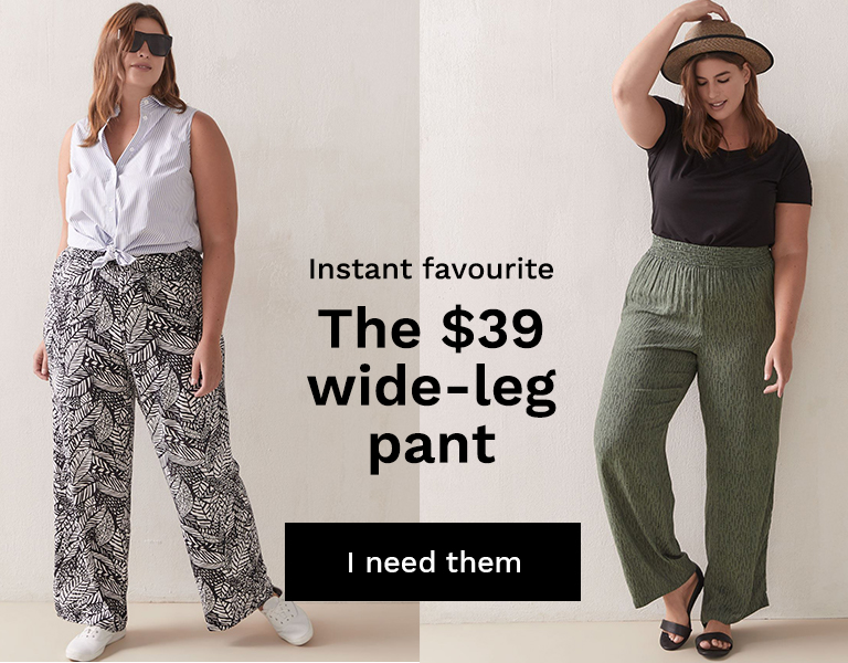 The $39 wide-leg pant.