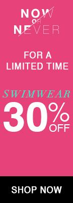 30% off swimwear