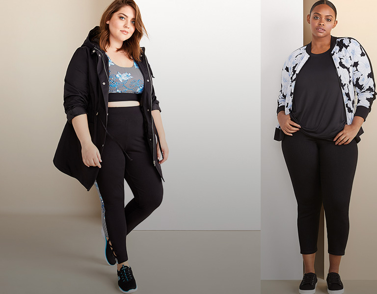 EVERYDAY ACTIVEWEAR - Mix and match these perfect essentials.
