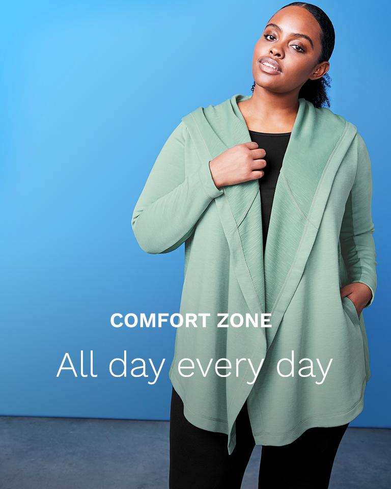 Comfort zone. Beyond the yoga mat.