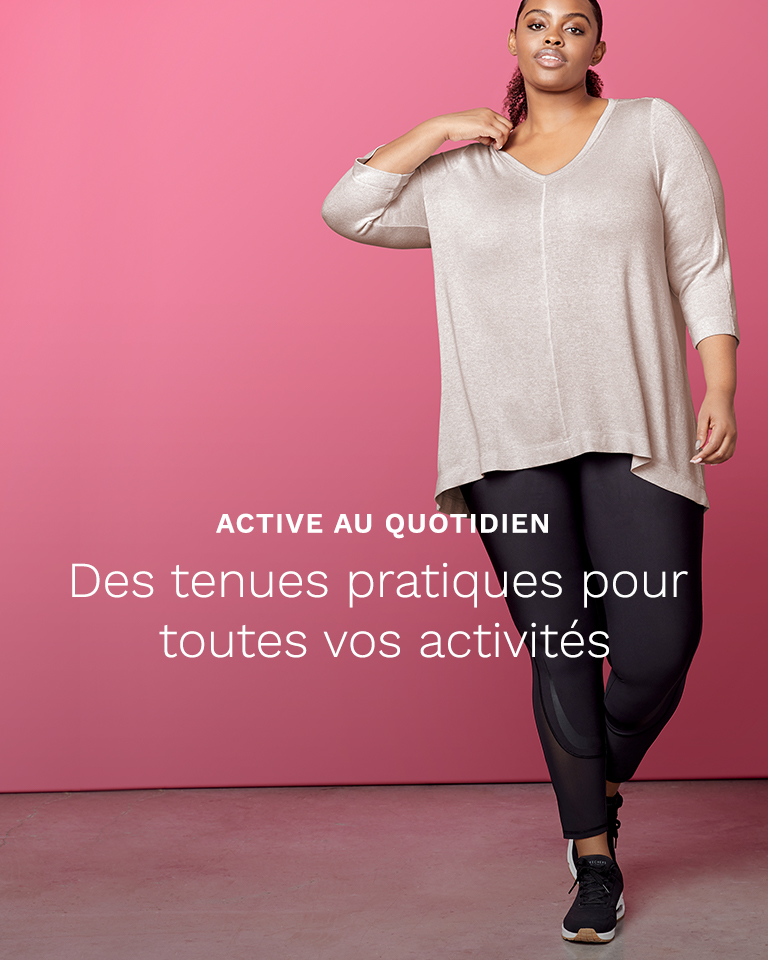 Active au quotidien.