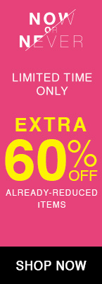 extra 60% off alread-reduced styles