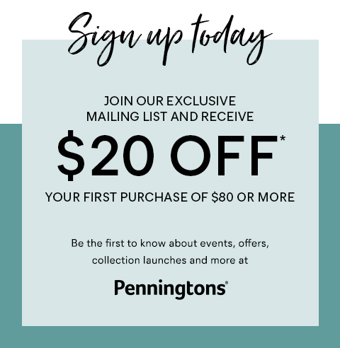 $20 OFF your next purchase of $80 +