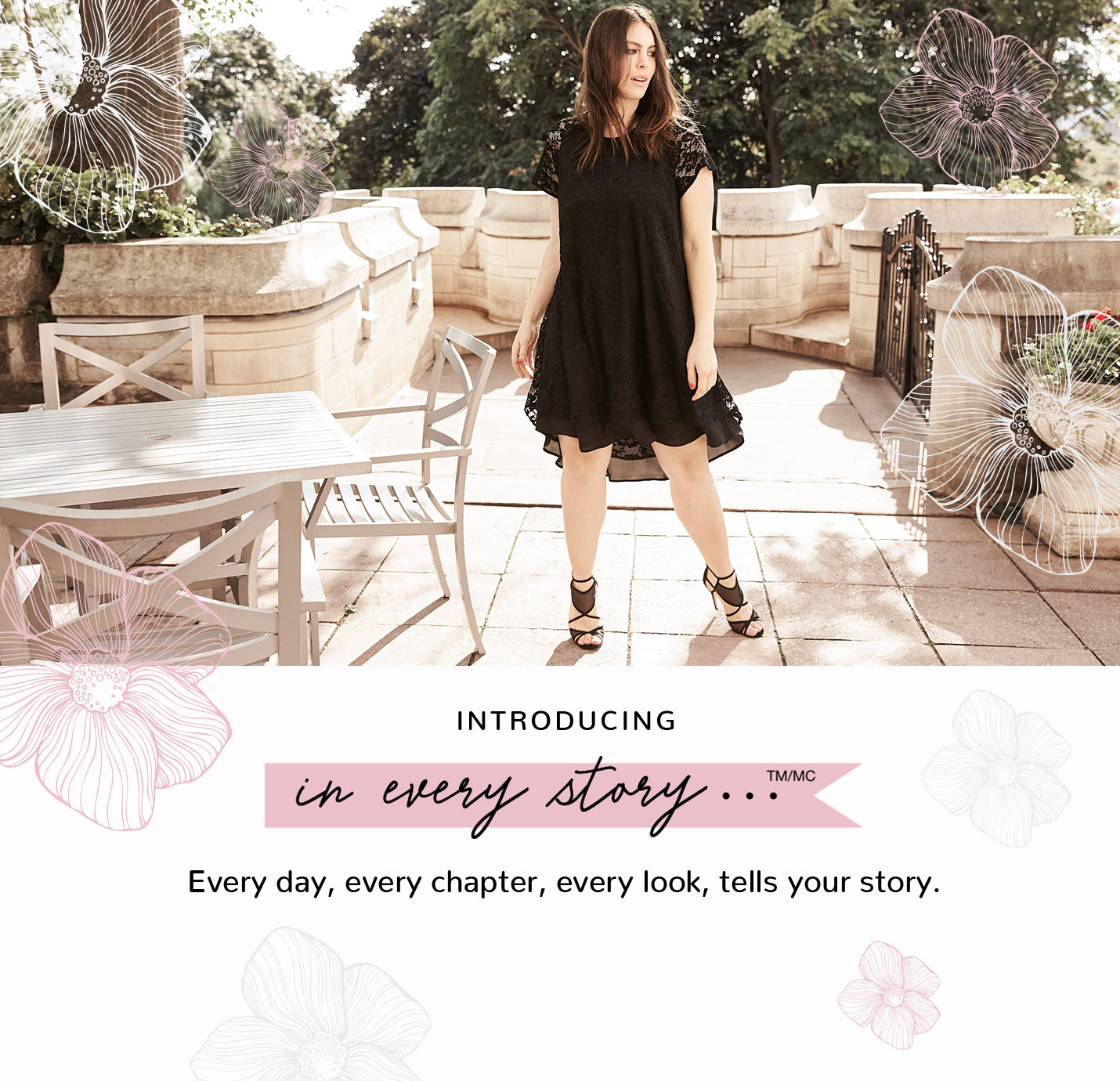 Introducing In Every Story… Every day, every chapter, every look, tells your story.