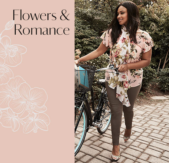 NEW COLLECTION: FLOWERS + ROMANCE