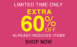 extra 60% off sale