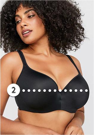 woman in bra